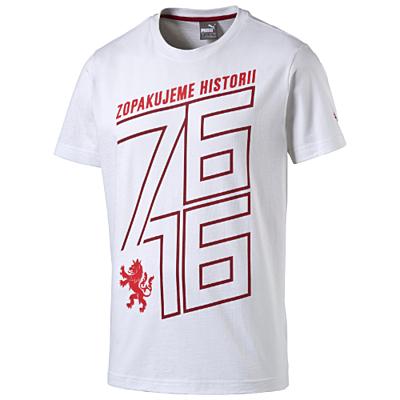 Czech Republic 76 Fan Shirt white-chili Pánské tričko